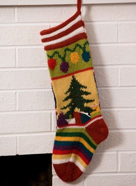 Christmas Stocking - Knitting - Learn to Knit - Knitting Patterns