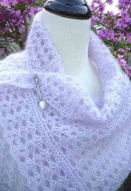 Womens Shawl Crochet Patterns: Womens Crochet Shawl Pattern