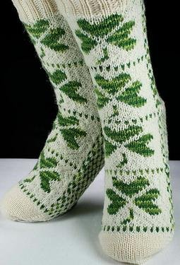 Easy Crochet Shamrock - Christmas Crafts, Free Knitting Patterns