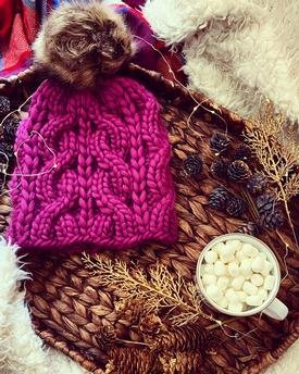 Rectangular OPENWORK Shawl to Knit front |