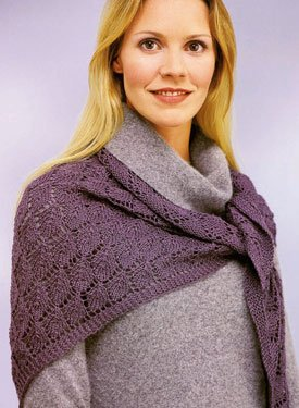Knitting Park: Lace Crochet Shawl