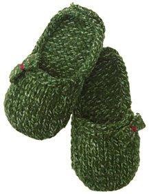 Free Knit & Crochet Slipper Patt - free on-line knitting patterns