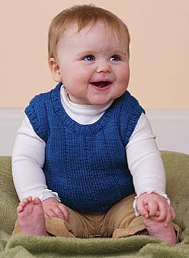Baby Vest Pattern - Knitting Patterns and Crochet Patterns from
