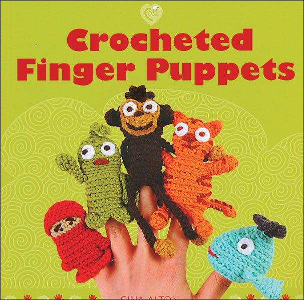 In it to knit it: Snowman finger puppet: free pattern :)