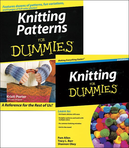 Yarn Market features Crocheting for Dummies book plus Knitting and