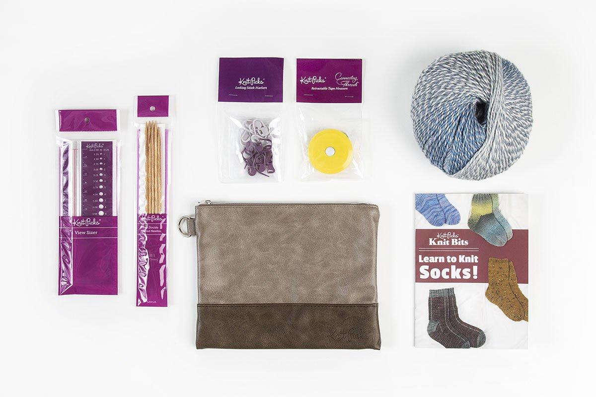 Learn to Knit Socks: Accogliente Socks