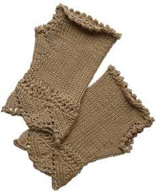 Fingerless Gloves - Knitting - Learn to Knit - Knitting Patterns