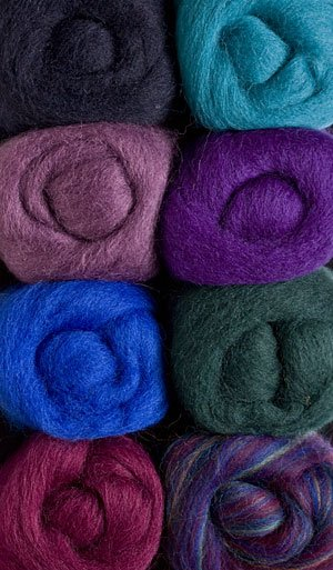 Regency Wool Roving Pack by Wistyria Editions