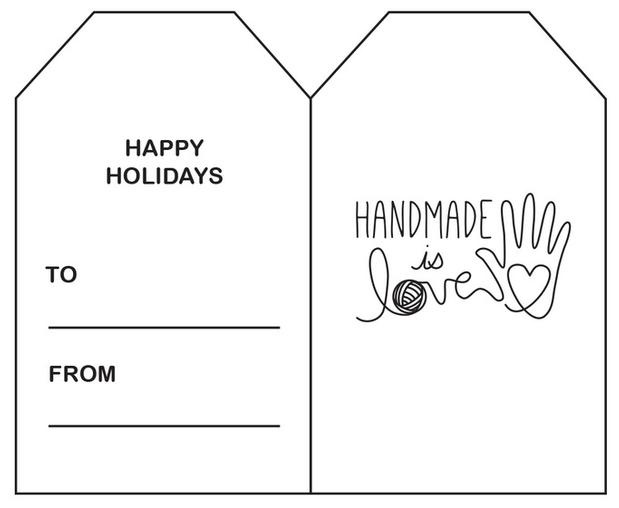 graphic regarding Printable Holiday Tags named Printable Holiday vacation Reward Tags