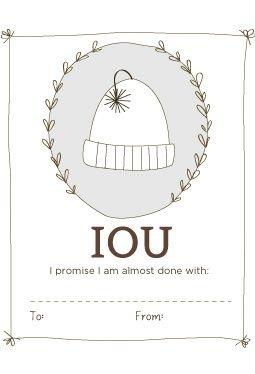 Iou Labels Printable Download Knitpicks Com