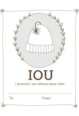 IOU Labels - Printable Download Free download