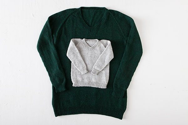 Knits for Everybody V-Neck Sweaters | KnitPicks com
