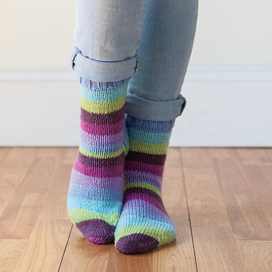 Accogliente Socks Free Pattern