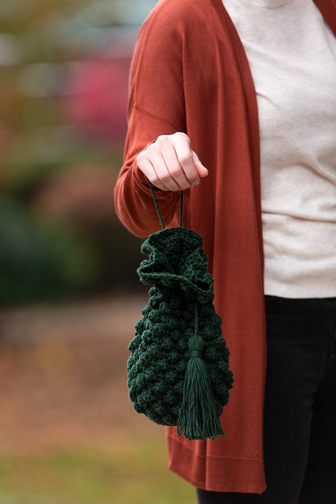 Bobble Clutch Bag | Crochet