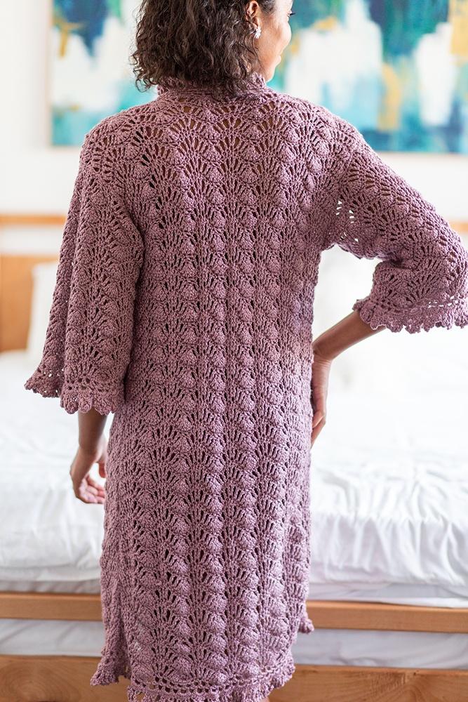 Art Deco Dressing Gown | Crochet.com