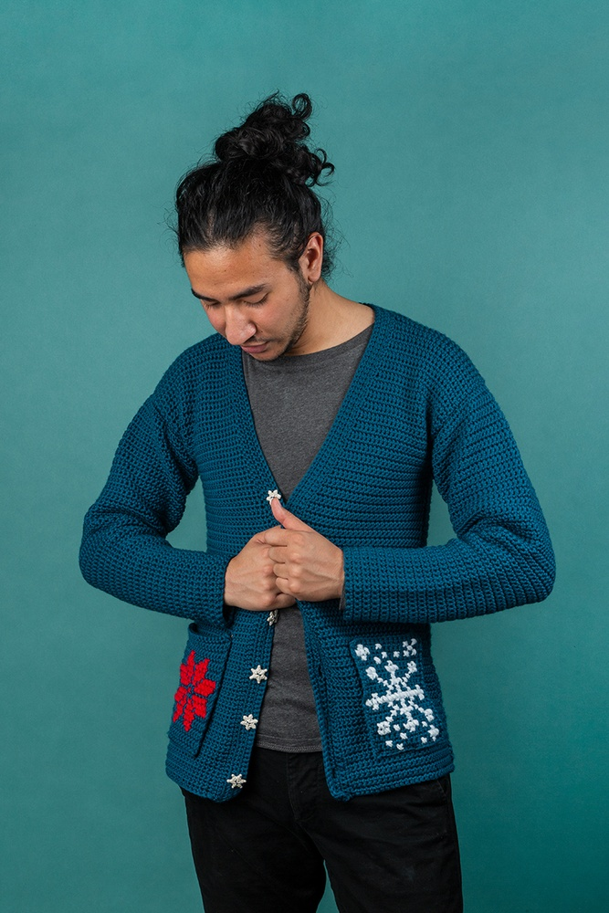 Revelry Cardigan Free Crochet Pattern