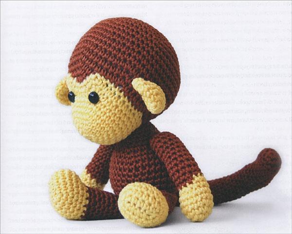 Handmade World: [Crochet] Johnny the monkey 🙈 | Háčkovaná ... | 480x600