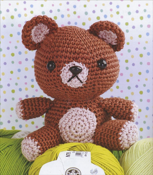 Crochet Cute Critters Amigurumi Animal Pattern Book | Easy ... | 600x523