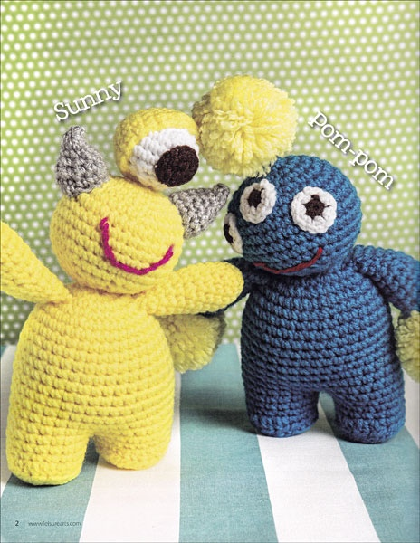 Epub Download) Pocket Amigurumi: 20 Mini Monsters to Crochet and ... | 600x464