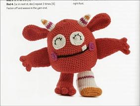 Amigurumi Monsters Crochet Free Patterns | Crochet patterns ... | 213x283