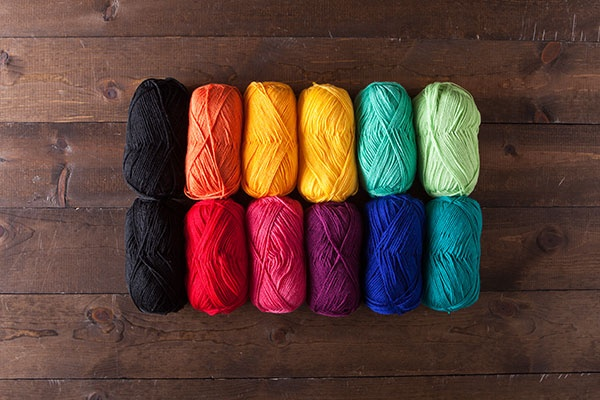 ust the Yarn! Hue Shift - Rainbow Value Pack