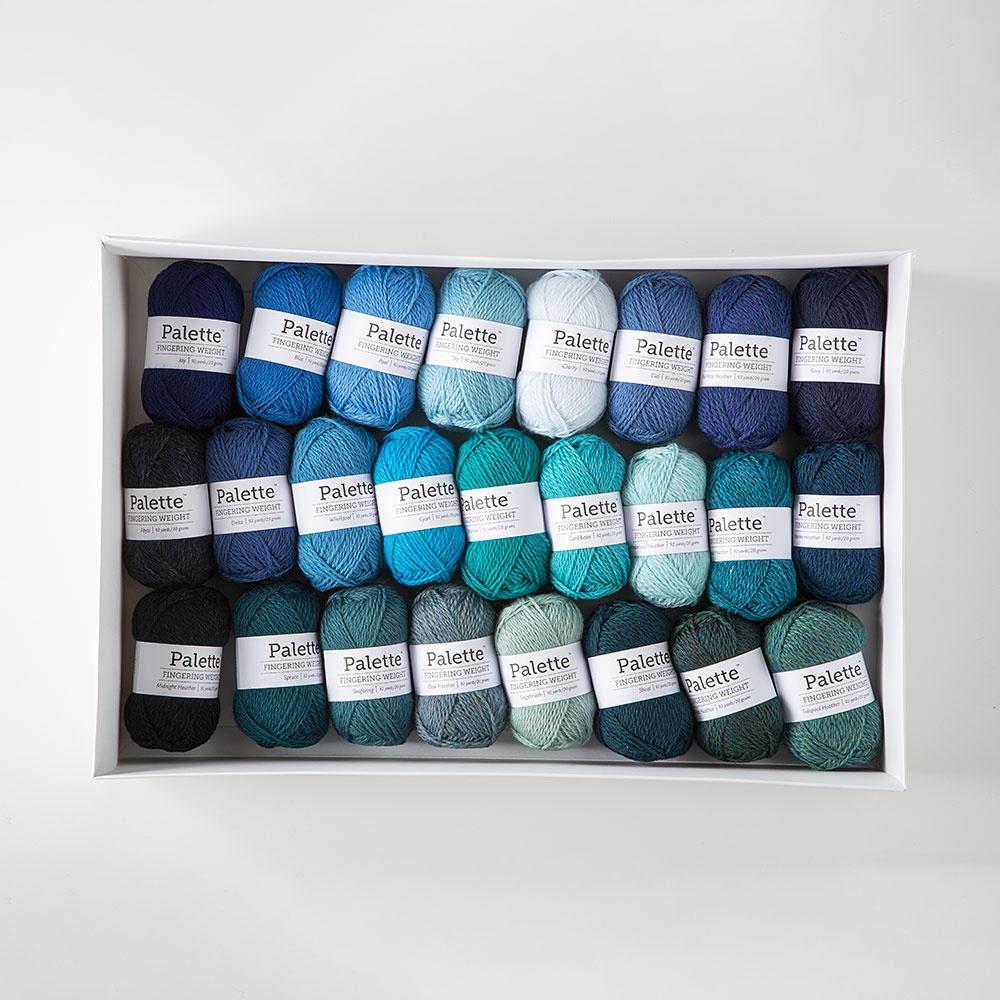 Forest and Ocean Palette Minis Sampler Yarn