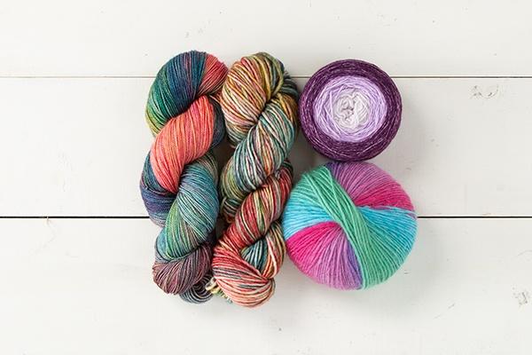 Color Kaleidoscope Yarn Sampler - Crazy for Colors