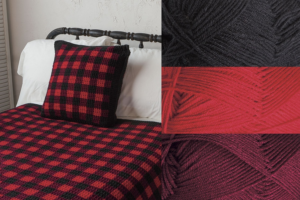 Fireside Afghan Kit - Choose Your Colors