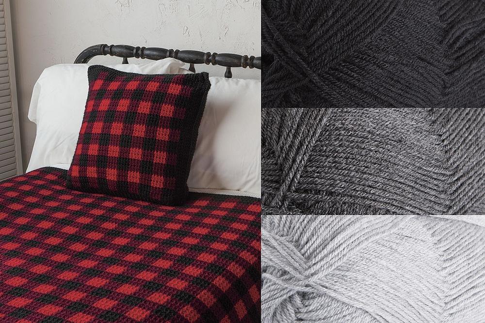 Fireside Afghan Kit - Choose Your Colors