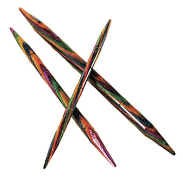 Options Rainbow Wood Cable Knitting Needles Knitpickscom