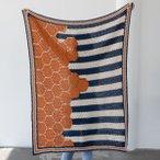 Boardwalk Hexie Blanket Pattern Kit