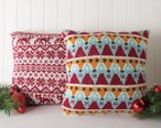 Fair Isle & Fox Pillow Pattern Kit