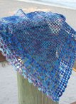 Tropical Breeze Crochet Shawl