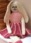 Elegant Eliza Ballerina Bunny Toy Pattern