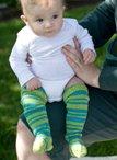 Baby Longlegs Socks Pattern