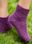 Indigo Dreams Crochet Socks Pattern