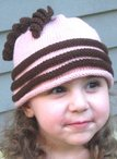 Fun Twirls Hat Pattern