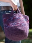 Felted Carry-All Crochet Tote Pattern
