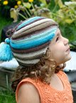 Diagonal Stripe Hat Pattern