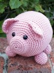 Roly Poly Piggy Crochet Amigurumi Pattern