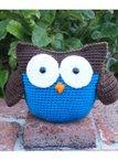 Roly Poly Owl Crochet Amigurumi Pattern