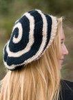6 Strand Spiral Crochet Beret Pattern