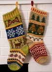 Mix-It-Up Christmas Stranded Stocking Pattern