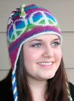Peace Out Earflap Hat Pattern