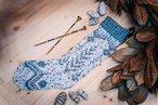 White Spruce Knit Stocking