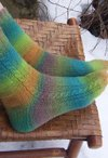 Winding Road Socks Pattern
