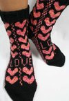 Sweetheart Socks Pattern