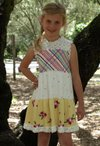 Ruffles Dress Pattern