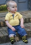 Baby Bee Sock Pattern