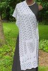 Octavia's Garland Lace Shawl Pattern